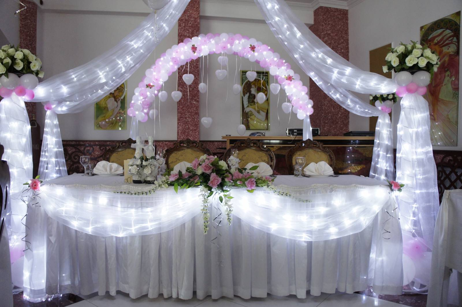 Оформление свадьбы фото цена